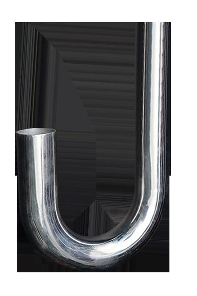 J-type aluminum alloy pipe